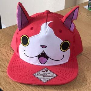 Accessories - Yokai cat SnapBack hat new ears cute kitty anime